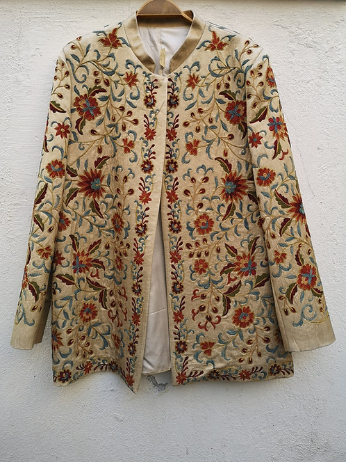 Silk Suzani Jacket