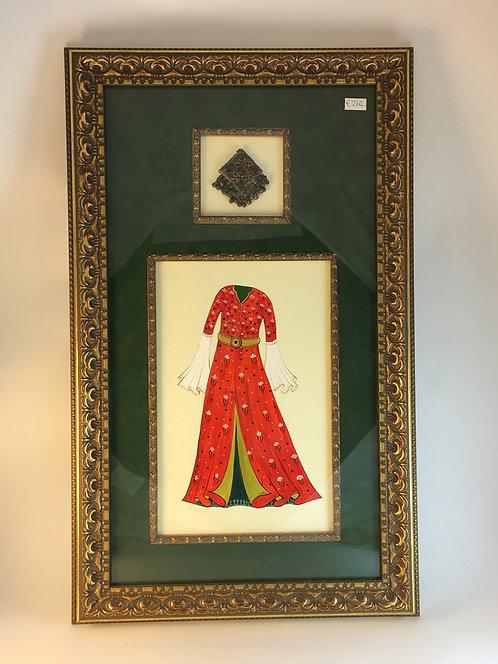 Ottoman Harem Women's Kafthan