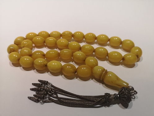 Antique Ottoman Bakelite Prayer Bead