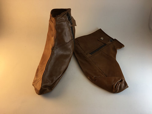"Thin Lambs Leather Soft Home Socks ""Mest"""
