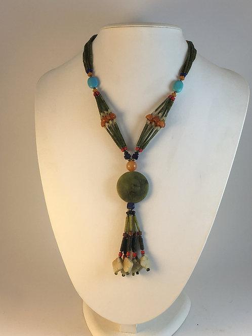 Afghan Jade Necklace