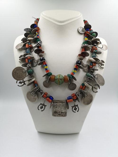 Moroccan Tuarec Silver Necklace