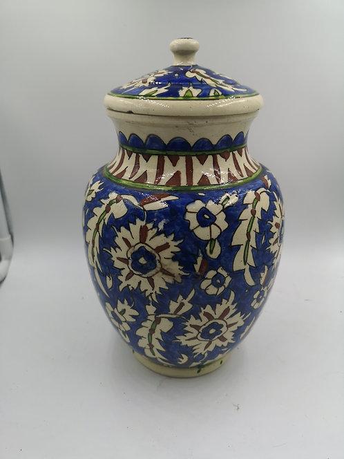 Kütahya jar with lid