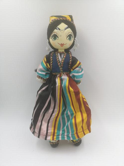 Uzbek girl doll