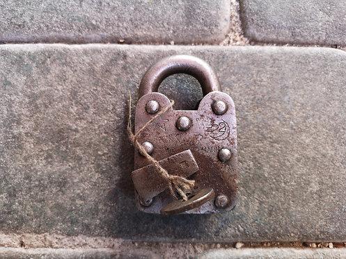 Afghan padlock