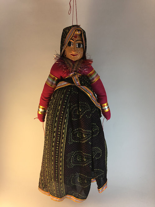Indian Women Puppet
