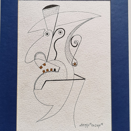 Fourgolden teeth with hat and earring man 11
