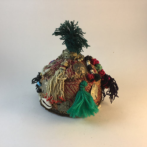 Afghan Turcoman Baby's Hat