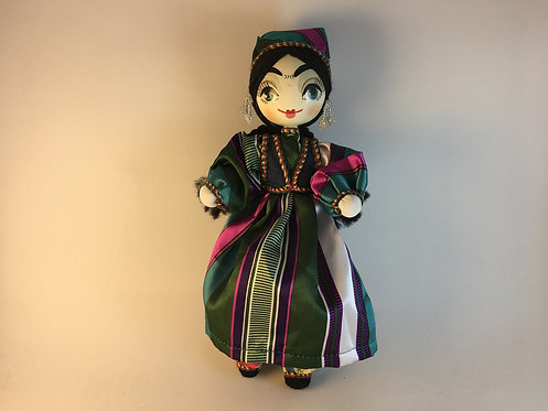 Uzbek Hand Made Traditional Girl Doll