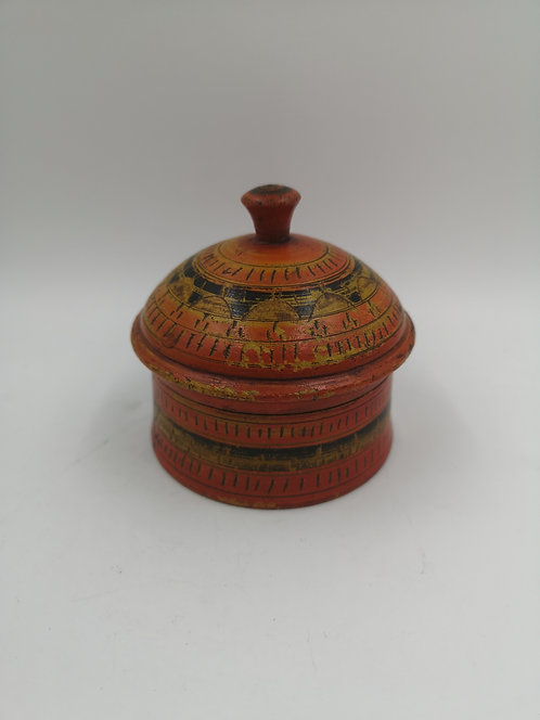 Afghan spice box small