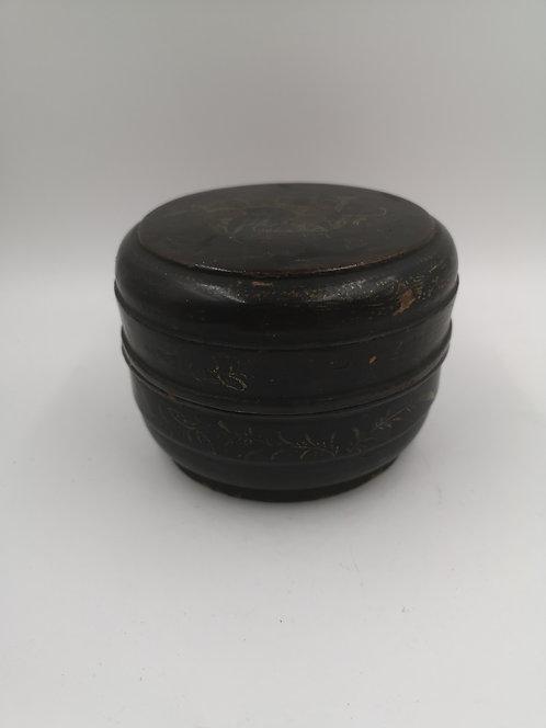 Indian 4 box wooden antique set