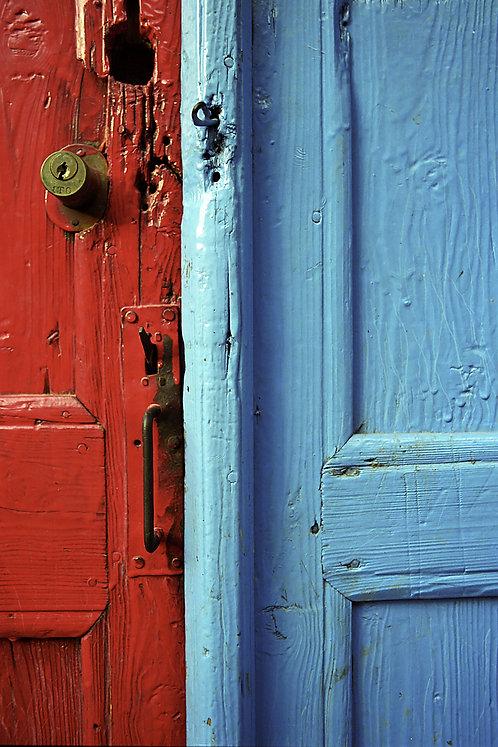"""Postcard """"Kaş, Door Detail"""""""