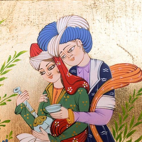 """Ottoman Lovers """"Leyla&Mecnun"""" Miniature"""