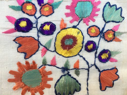 Hand Embroidered Turkish Young Cotton Peshkir Towel Antique Shop