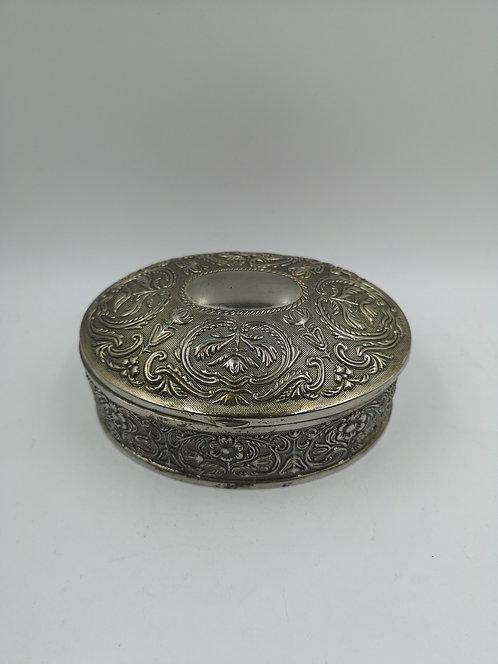 Zinc metal Turkish relief box
