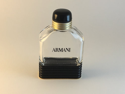 Armani 1980s Men's Perfume Bottle