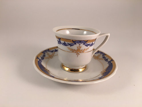 Royal Dresden Coffee Cup
