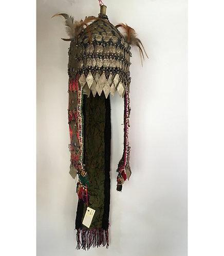 Turkmen Ersari Wedding Hat