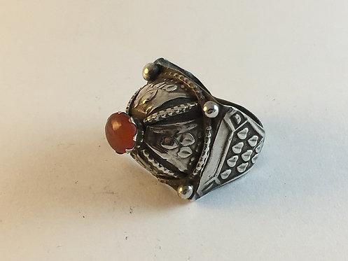 Afghan Pashtun Silver Ring