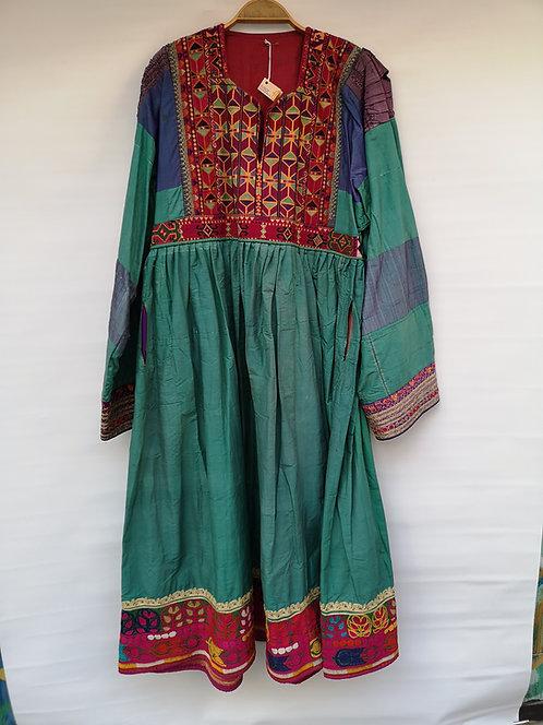 Afghan Belouch silk dress