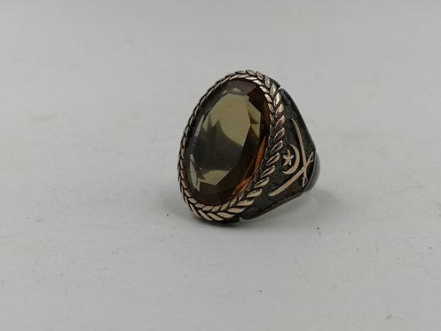 Turkish sultanite silver ring