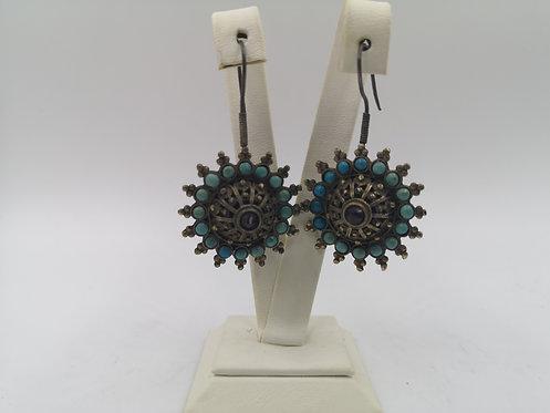 Silver Uzbek Earrings