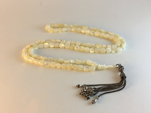 Mother of Pearl 99 Prayer Bead