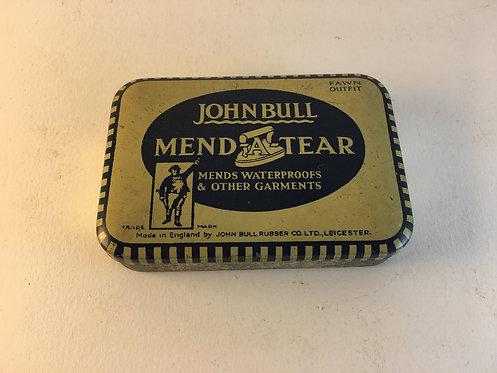 John Bull Mend a Tear Tin