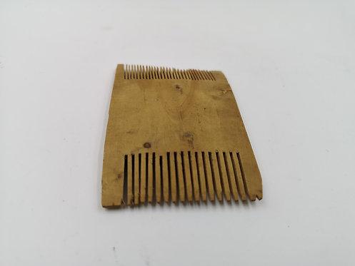 Ottoman box wood comb