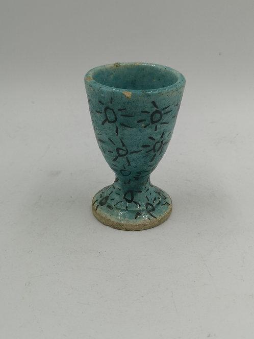 Kütahya turquoise eggcup