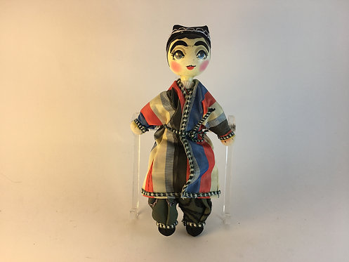 Uzbek Hand Made Traditional Man Doll