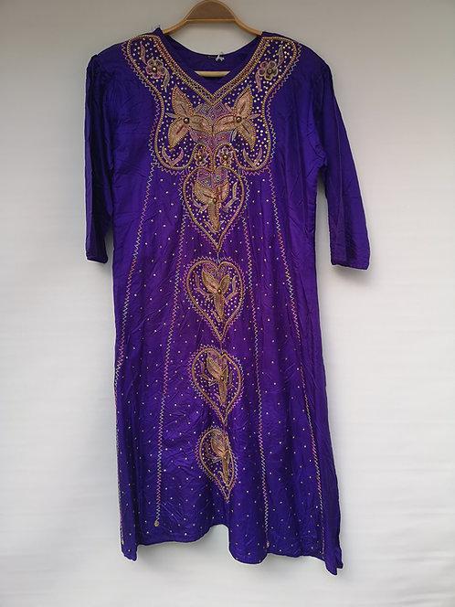 Pakistani silk dress