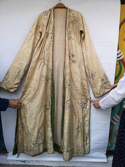 Ottoman Palace early 18th century silk dress