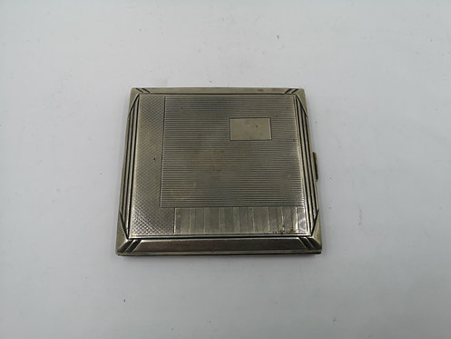 Silver plated Cigarette box
