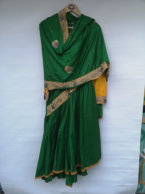 Indian silk Sari dress