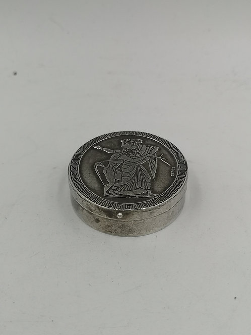 Silver Christian box