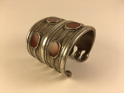 Turcoman Teke Tribe Silver Bracelet