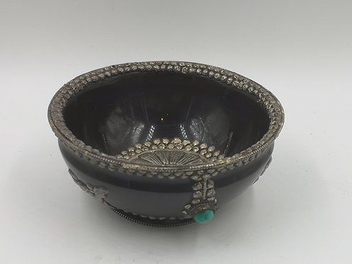 Nepalese bowl silver