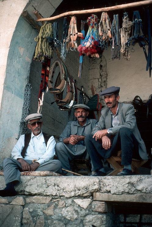 Three Kurdish Men