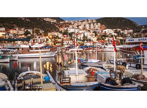Kaş Marina Golden Hour