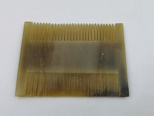 Horn old comb