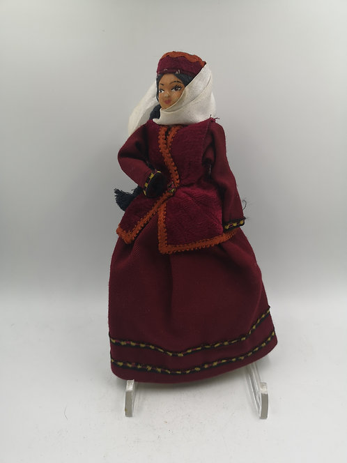 Traditional Turkish Costume Doll