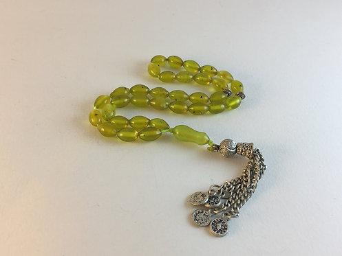 Afghan Jade Prayer Bead