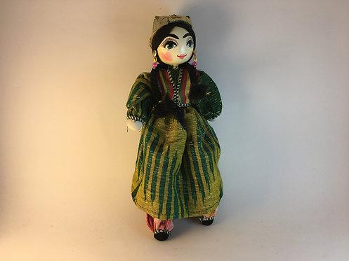 Uzbek Hand Made Traditional Girl Doll