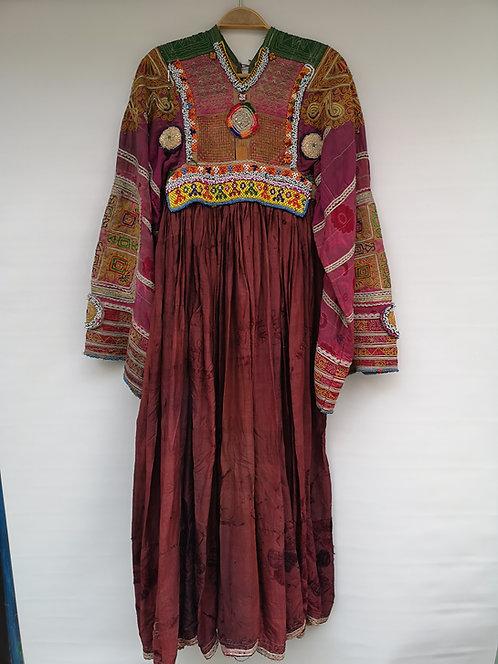 Afghan Peshtun dress