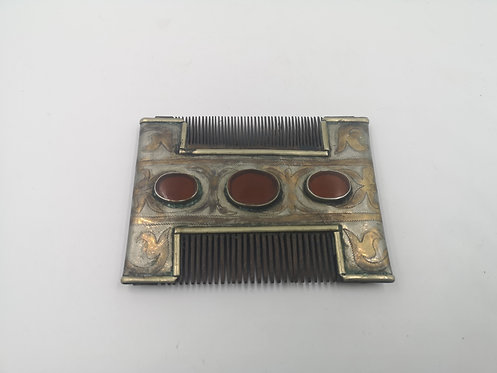 Turcoman Teke silver comb