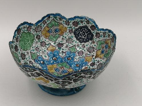 Isfahan enamel bowl