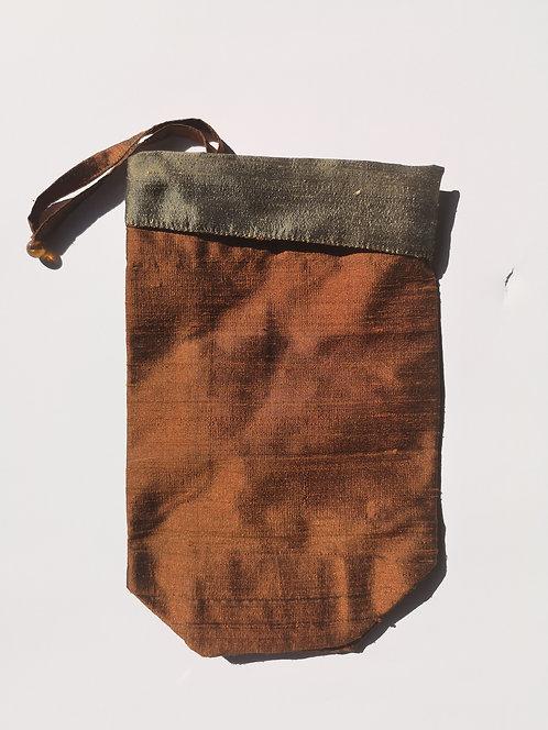 Silk pouch