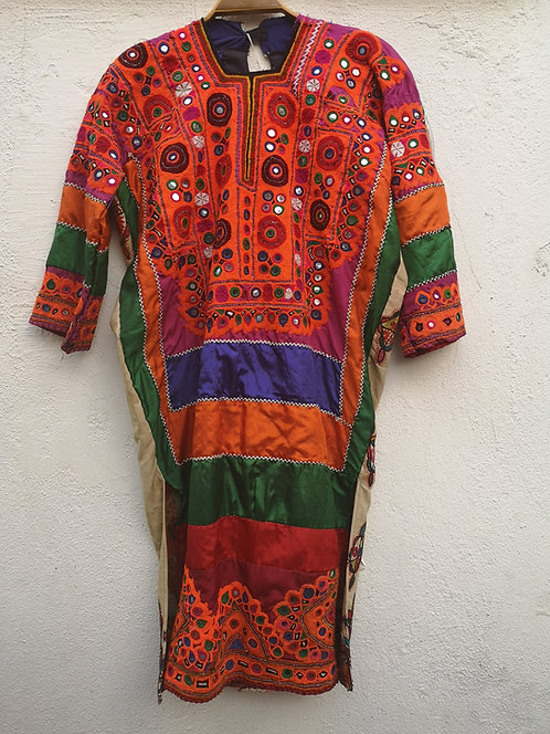 Sindh Dadu silk dress
