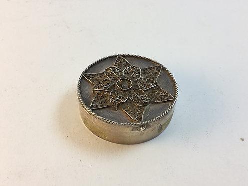 Ottoman Filigree Silver Box